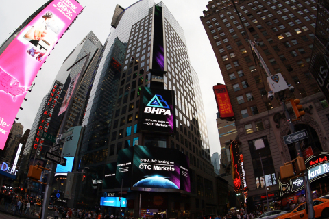 BHPA on screens in New York City's Times Square (Photo: Business Wire)