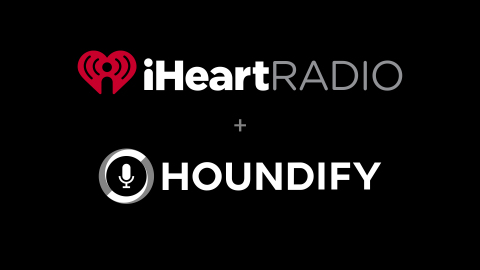 iHeartRadio Music and Podcasts to be Available Via Hound App and Houndify Voice AI Platform (Graphic: Business Wire)