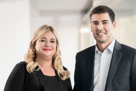 Jayne Archbold (CEO) and Christopher Catterfeld (Chief Marketing and Product Officer) (Photo: Business Wire)