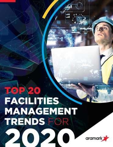Aramark's newly released guide, Top 20 Facilities Management Trends for 2020, provides building owners and facility managers with an in-depth look at the future of facilities management. (Graphic: Business Wire)