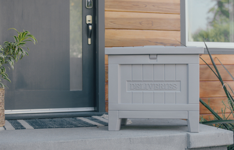 Yale Smart Delivery Box (Photo: Business Wire)