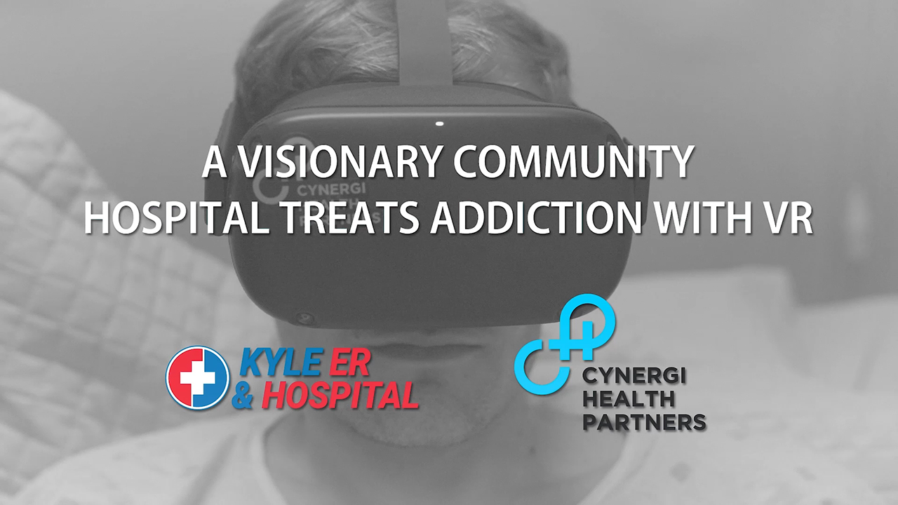 Visionary community hospital pairs virtual reality with medication-assisted detox to ease addiction withdrawal symptoms