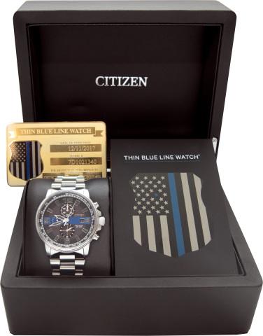 Citizen Thin Blue Line (Photo: Business Wire)