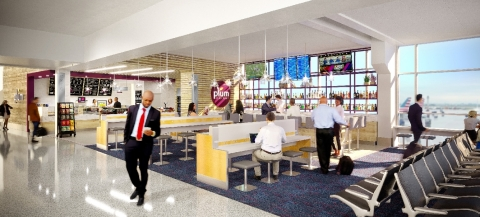 Plum Market concept at Dallas Fort Worth International Airport (Photo: Business Wire)