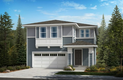 New KB homes now available in Seattle. (Photo: Business Wire)