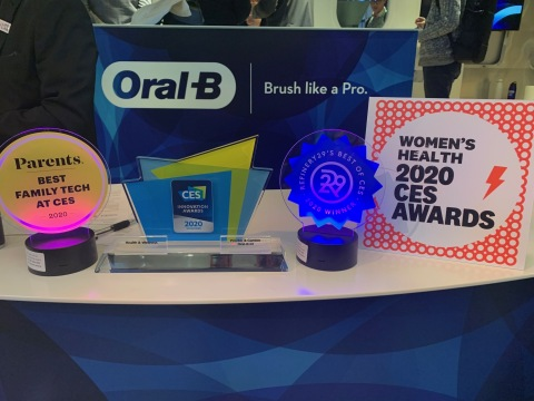 In addition to being named one of the CES Innovation Award Honorees, the Oral-B iO was also presented with 'Best of' awards from Parents Magazine, Refinery29 and Women's Health. (Photo: Business Wire)