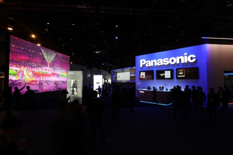Panasonic Booth at CES 2020 (Photo: Business Wire)