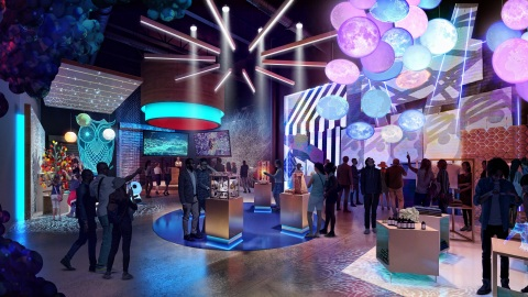 The Intel Experience Incubation Hub will be a multiuse venue for innovation and collaboration. It will allow retail ecosystem partners to test new design concepts and technologies. (Credit: Design Distill)