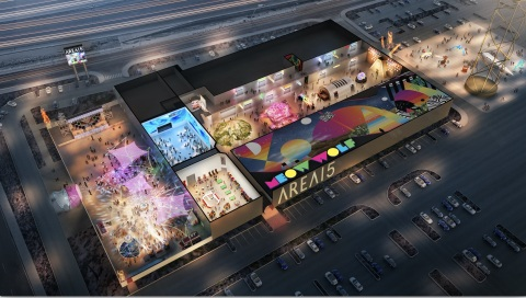 Opening in April 2020, the AREA15 property in Las Vegas will include a flexible platform where Intel innovation will play an integral role. (Credit: The Vox Agency)