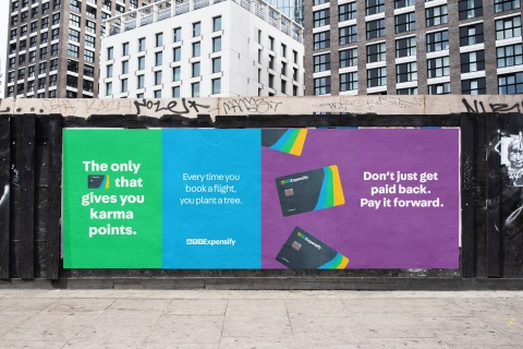 Expensify launches Karma Points, the only card reward that makes a difference. (Photo: Business Wire)