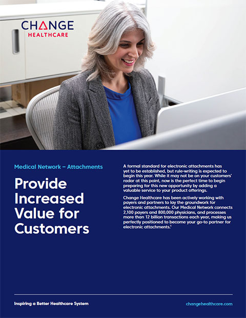 Change Healthcare Medical Network-Attachments Brochure
