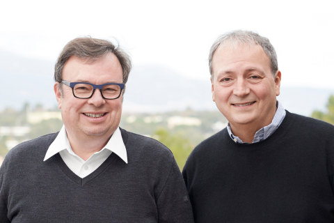Rainer Kallenbach, President and CEO, and Bruno Paucard, COO of Silicon Mobility. Photo: Silicon Mobility