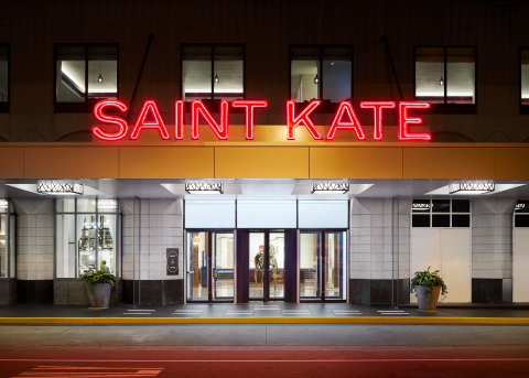 Saint Kate - The Arts Hotel named a Top 10 Best New Hotel by USA Today (Photo: Business Wire)