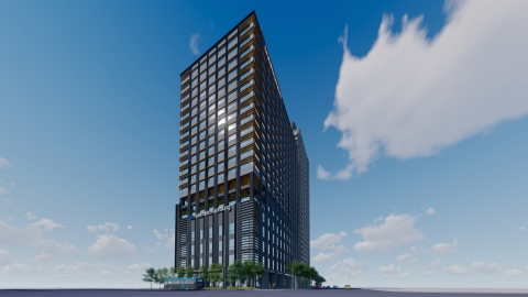 Rendition of Hotel Nikko Kaohsiung (Graphic: Business Wire)