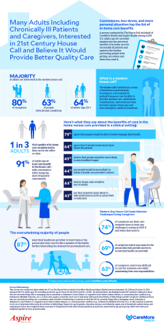 CareMore's In-Home Care Survey Snapshot (Graphic: Business Wire)