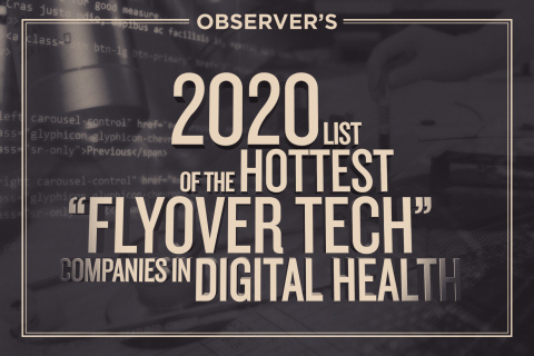 PhysIQ Named One of 2020's Hottest Flyover Tech Companies in Digital Health (Graphic: Business Wire)