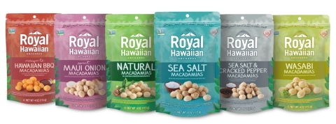 Royal Hawaiian Orchards Heart Healthy Line of Macadamia Nuts (Photo: Business Wire)