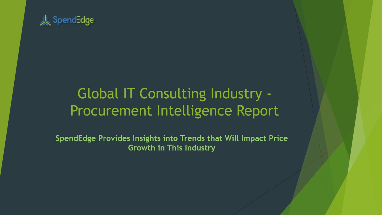 SpendEdge, a global procurement market intelligence firm, has announced the release of its Global Security Services Industry - Procurement Intelligence Report.