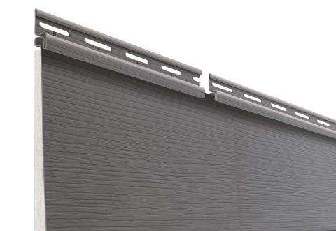 Available in 18 colors, CertainTeed's new CERTAplank™ reinforced siding delivers a flat-face, hardboard look, which can be installed quickly and safely, and requires virtually no upkeep. (Photo: CertainTeed)