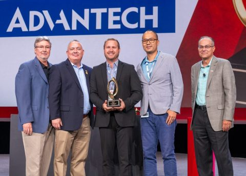 Advantech Honored with Wendy's Golden Link Award for Intelligent Payment Systems (Photo: Business Wire)