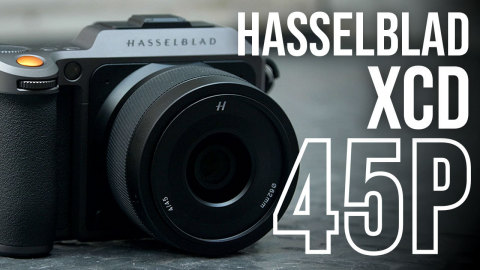 Hasselblad XCD 45mm f/4 P Medium-Format Lens (Photo: Business Wire)