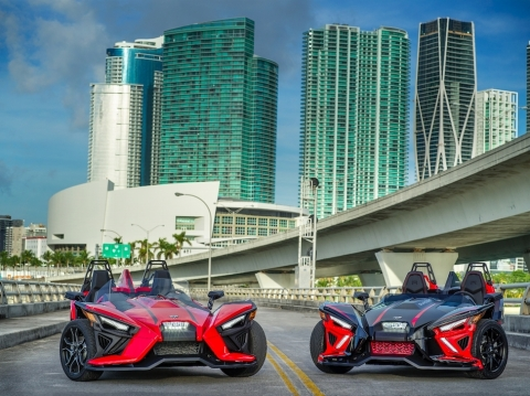 Slingshot 2020 lineup (Photo: Polaris Slingshot)