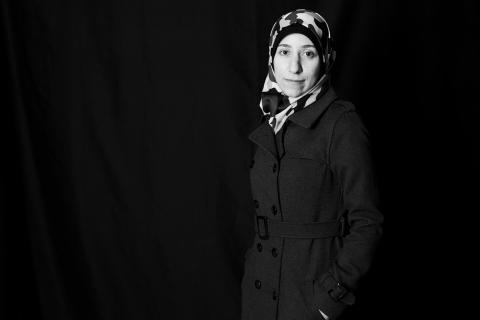 Dr. Amani Ballour (Credit: Stine Heilmann)