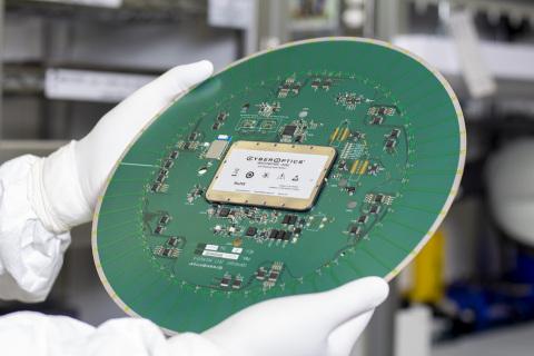 CyberOptics WaferSense Auto Resistance Sensor (Photo: CyberOptics Corporation)