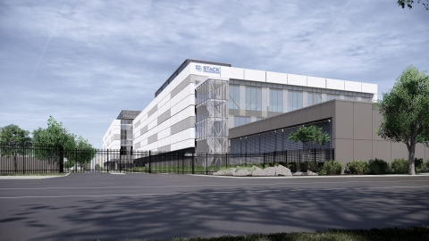 STACK INFRASTRUCTURE's Silicon Valley Data Center Campus (Photo: Business Wire)