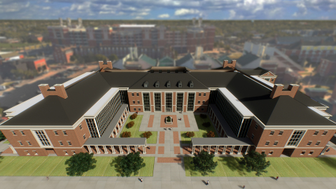 Conceptual rendering of the new home for the Ferguson College of Agriculture at Oklahoma State University. (Photo: Business Wire)