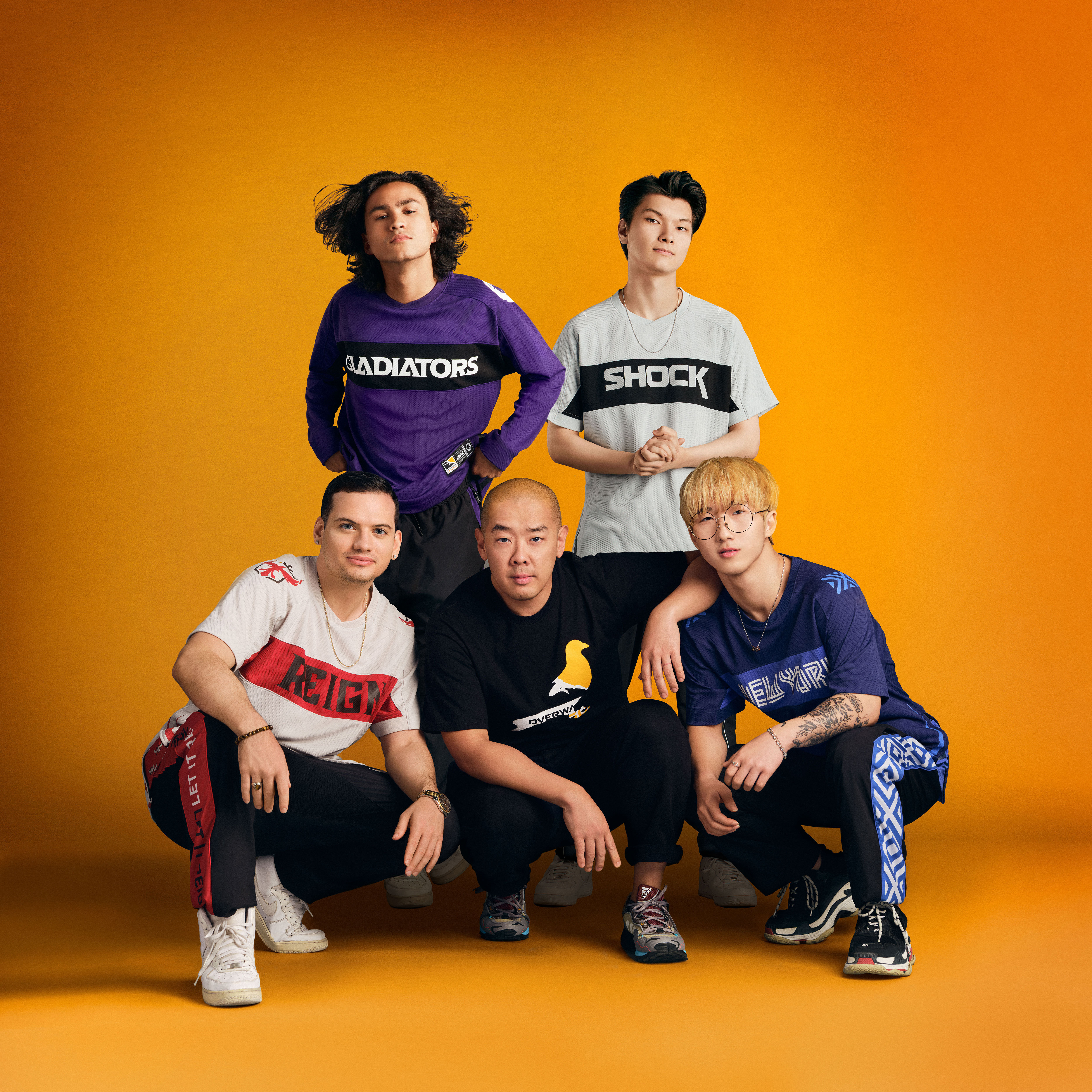 Alegrarse enlace aguacero  Legendary Streetwear Designer Jeff Staple Teams up With the Overwatch  League™ to Create First-of-its-kind Esports Kit | Business Wire