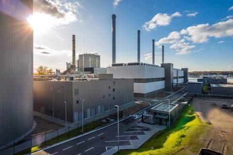 One of Europe's most modern gas-fired power plants: Coastal power plant in Kiel (Copyright: Stadtwerke Kiel AG)