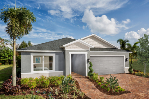 New KB homes now available in Tampa. (Photo: Business Wire)