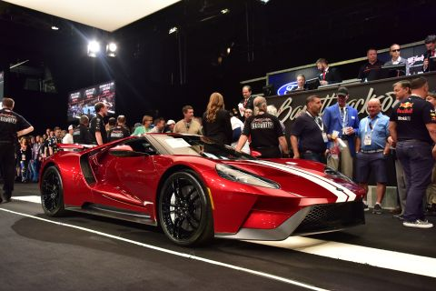 2017 Ford GT (Photo: Business Wire)