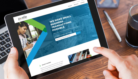 New Pixelle Website (Photo: Business Wire)
