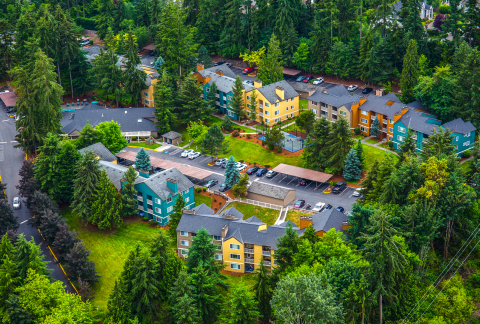 The 401-unit Avery at the Reserve apartment community in Federal Way, Wash., has been sold to S. Lew & Associates, Inc. of San Diego for $90 million. The company plans to rebrand the property as Encore Apartment Homes, beginning in the first quarter of 2020. (Photo: Business Wire)