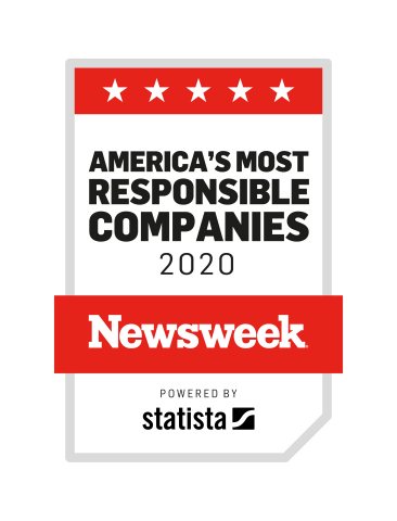"""Ryder has been named by Newsweek to its inaugural list of """"America's Most Responsible Companies"""" for 2020 for its ongoing commitment to corporate social responsibility related to the environment, social causes, and corporate governance (ESG). (Photo: Business Wire)"""