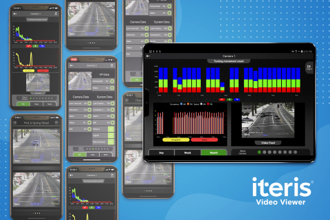 Iteris Unveils Real-Time Traffic Video Mobile App (Graphic: Business Wire)