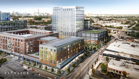 The redevelopment of Atlanta's West End Mall by Elevator City Partners will support and create new business opportunities for the West End by attracting global companies seeking a diverse workforce. (Photo: Business Wire)