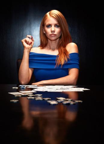 Lynn Gilmartin, World Poker Tour Anchor and Australian Poker Hall of Famer (Photo: Business Wire)
