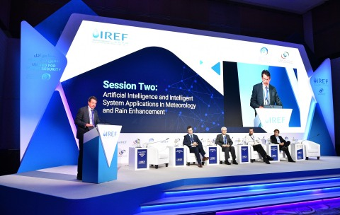 The Fourth Rain Enhancement Forum in Abu Dhabi (Photo: AETOSWire)