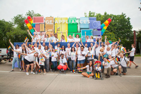 GE Appliances at the Louisville Pride Parade (Photo: GE Appliances, a Haier company)