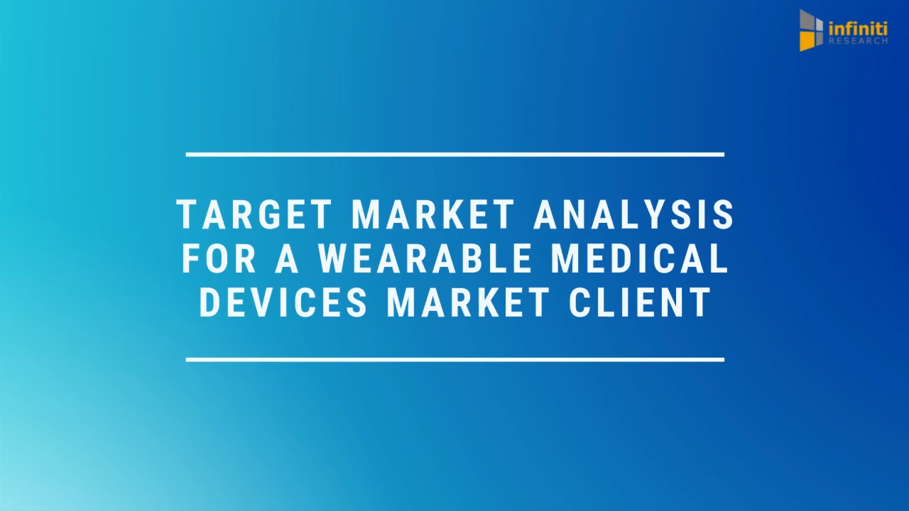 Developing an Actionable Market Expansion Strategy for a Wearable Medical Devices Market Client