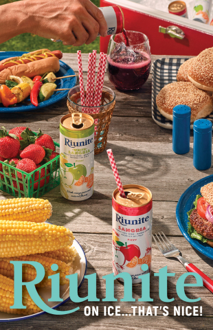 Riunite Announces Spring Launch of New Canned Sangria Line (Photo: Business Wire)