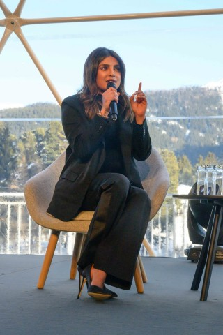 Priyanka Chopra-Jonas Joins Global Citizen and Teneo During the World Economic Forum to Urge World's Billionaires to Give More as Part of Global Goal Live: The Possible Dream Campaign (Photo: Business Wire)
