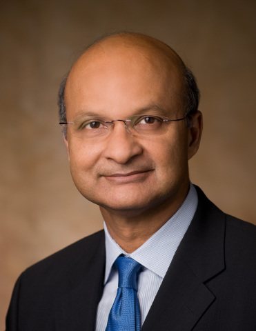 Dr. Omar Ishrak was elected to Intel's board of directors in March 2017 and was named chairman of the board in January 2020. Ishrak is the chairman and chief executive officer of Medtronic, a global leader in medical technology, and has served in that role since 2011. (Credit: Intel Corporation)