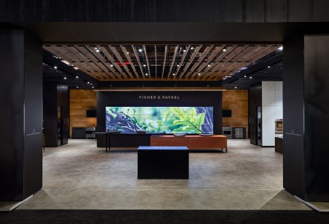 Fisher & Paykel KBIS/IBS Booth (C5831), Photographed by Dan Arnold (Photo: Business Wire)