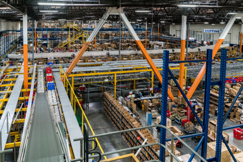 Newegg Logistics fulfillment center (Photo: Business Wire)
