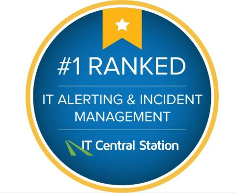 Everbridge Named Top Enterprise IT Alerting and Incident Management Solution of 2019 by IT Central Station (Graphic: Business Wire)