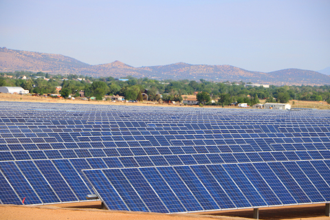 Arizona Public Service's Chino Valley solar field in Yavapai County, Ariz. (Photo: Business Wire)